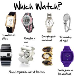 Ямар цаг сонгох вэ?
